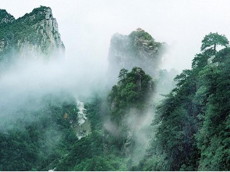 庐山风景区高清示意图